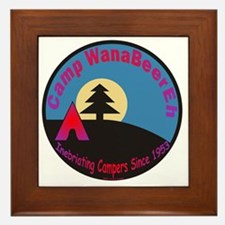 Camp WanaBeerEh / Framed Tile