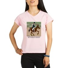 8191_horse_cartoon Performance Dry T-Shirt