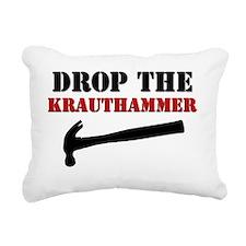 Hammer wt Rectangular Canvas Pillow