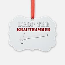 Hammer blk Ornament