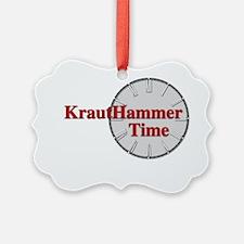 HmmerTime blk Ornament