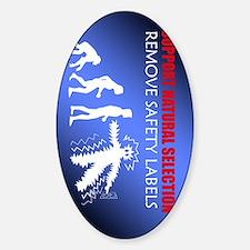 DarwinKindle Sticker (Oval)