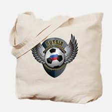 soccer_ball_crest_russia Tote Bag