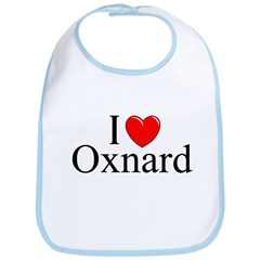 """""""I Love Oxnard"""" Bib"""
