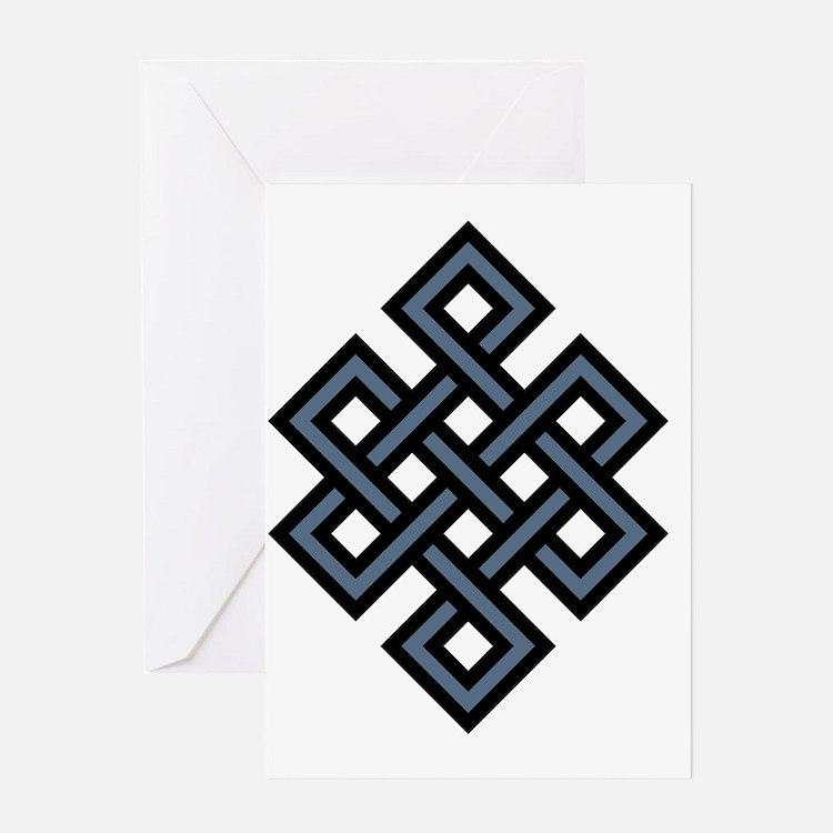 Eternal Knot Greeting Card