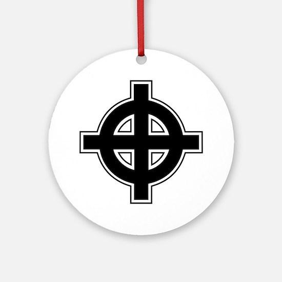 Celtic Cross Round Ornament