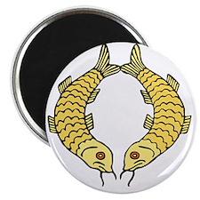 Golden Fish Magnet