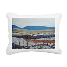 Vineyard Rectangular Canvas Pillow