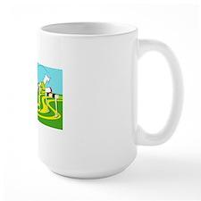 Funny Hurdle cafe press card Mug