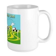 Funny hurdle birthday dad cafe press ca Mug
