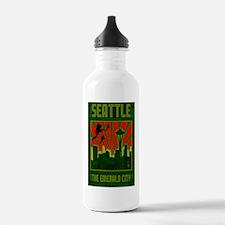 Seattle_The_Emerald_Ci Water Bottle