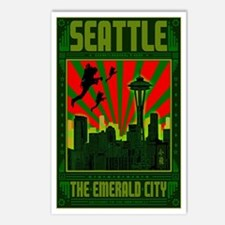 Seattle_The_Emerald_City_ Postcards (Package of 8)