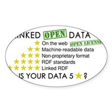 5 Star Linked Open Data Decal