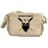 Male nurse Canvas Messenger Bags