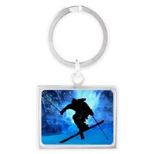 Winter Landscape and Freestyle  Landscape Keychain
