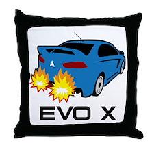 Evo X Throw Pillow