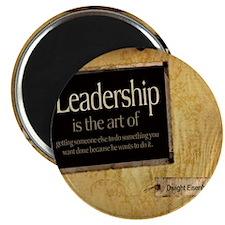 Leadership Quote on Tile Coaster, Keepsake  Magnet
