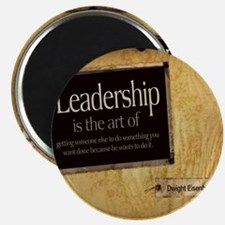 Leadership Quote on Tile Coaster, Keepsake  Magnet