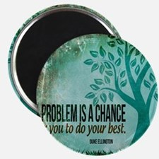 Do Your Best Quote on Tile Coaster, Keepsak Magnet