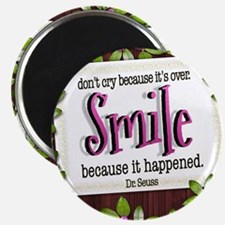 Smile Quote on Tile Coaster, Keepsake Box,  Magnet