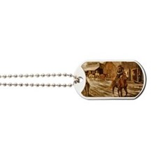 Stranger in Town Dog Tags