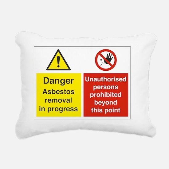 Asbestos Rectangular Canvas Pillow