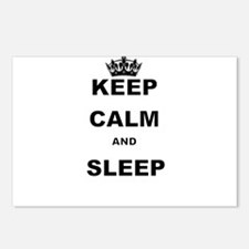 KEEP CALM AND SLEEP Postcards (Package of 8)