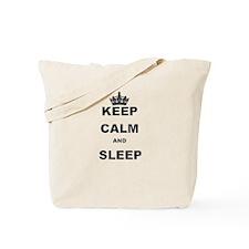 KEEP CALM AND SLEEP Tote Bag