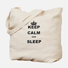 KEEP CALM AND SLEEP Tote Bag