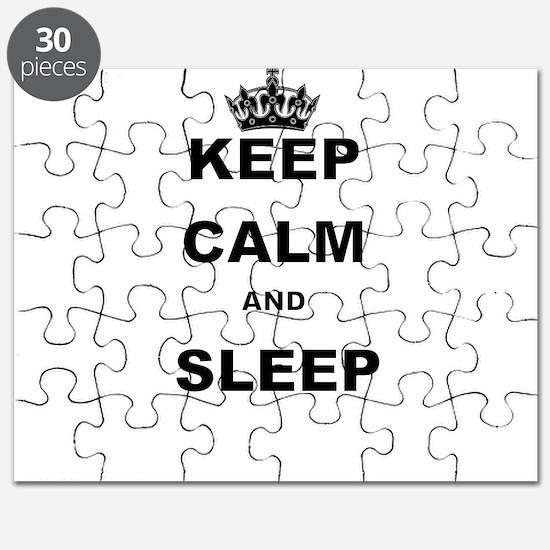 KEEP CALM AND SLEEP Puzzle