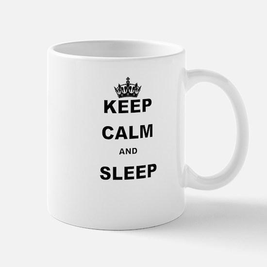 KEEP CALM AND SLEEP Mugs