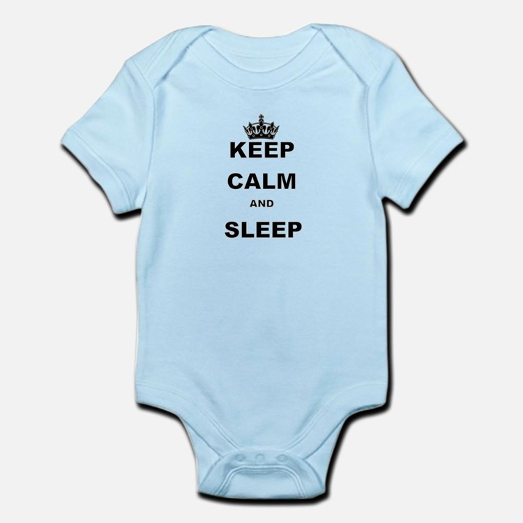 KEEP CALM AND SLEEP Body Suit