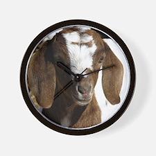 Cute kid goat Wall Clock