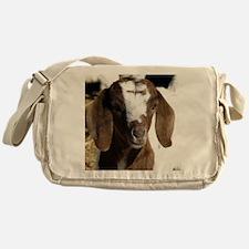 Cute kid goat Messenger Bag