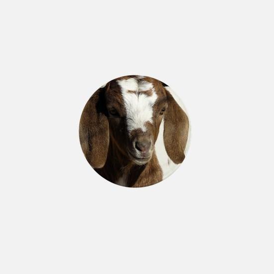 Cute kid goat Mini Button