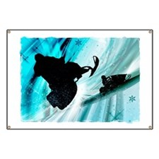 Snowmobiling on Icy Trails 2 Banner