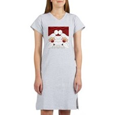 Santa Flip Flops Women's Nightshirt