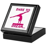 Gymnastics Keepsake Box - Dream