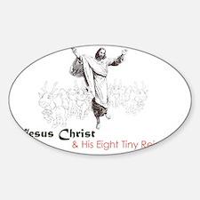 santachrist Sticker (Oval)