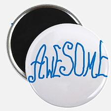 BLUEAWESOMEPAPA Magnet