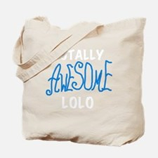 BLUEAWESOMELOLO Tote Bag