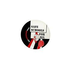 Safe Schools Button Mini Button (10 pack)