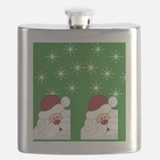 Santa Flip Flops Flask