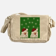 Santa Flip Flops Messenger Bag