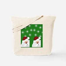 Santa Flip Flops Tote Bag