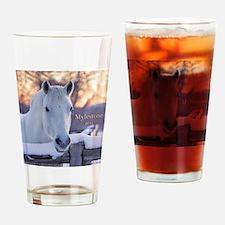 scoutornament-final Drinking Glass