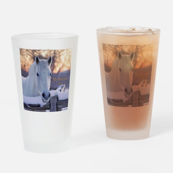 scoutornament-final Drinking Glass