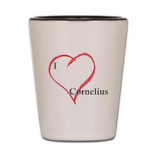 love_cornelius.gif Shot Glass