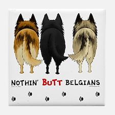 BelgianButtsNew Tile Coaster