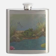 The Sunbather 16x20 Flask